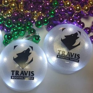 Custom LED Mardi Gras Beads